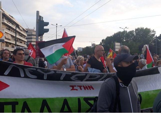 σφαγής Παλαιστινίων