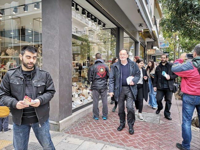 Λαφαζάνης: Βατερλό για ΣΥΡΙΖΑ-ΝΔ οι ευρωεκλογές. Θετική έκπληξη η Λαϊκή Ενότητα