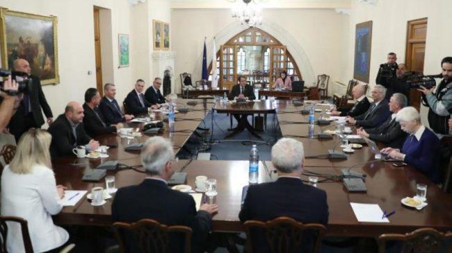 Τα μηνύματα των πολιτικών αρχηγών της Κύπρου μετά το Εθνικό Συμβούλιο