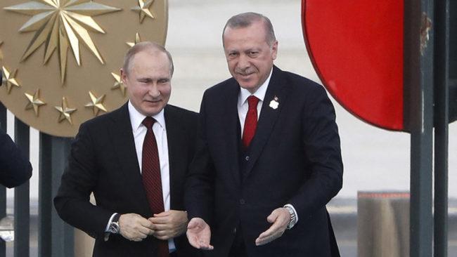 Πούτιν: Συμφωνία με Τουρκία συναλλαγών σε εθνικά νομίσματα. Πάγωσαν ΗΠΑ-Ε.Ε
