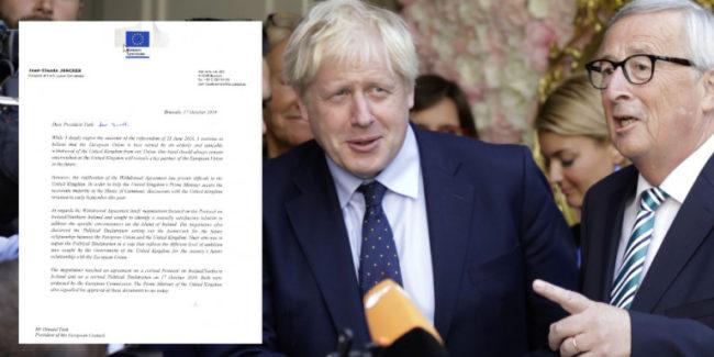 Λευκός καπνός για το Brexit-«Εχουμε συμφωνία», λένε Μπόρις Τζόνσον και ΕΕ