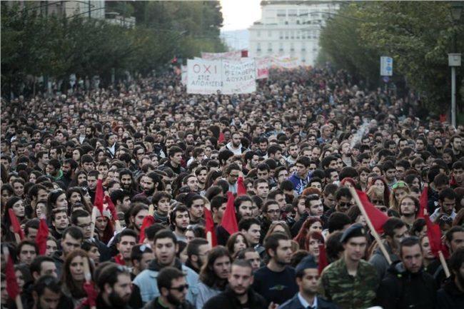 Μεγαλειώδης πορεία Πολυτεχνείου: Μήνυμα αγώνα για ανεξάρτητη, δημοκρατική κοινωνικά δίκαιη Ελλάδα