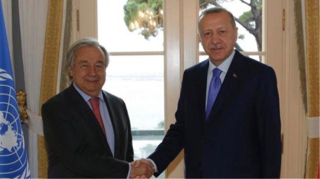 Γκουτέρες, δούρειος ίππος του Ερντογάν. Ξεφτιλίζει ΟΗΕ. Ίσες αποστάσεις από Τουρκία-Κύπρο