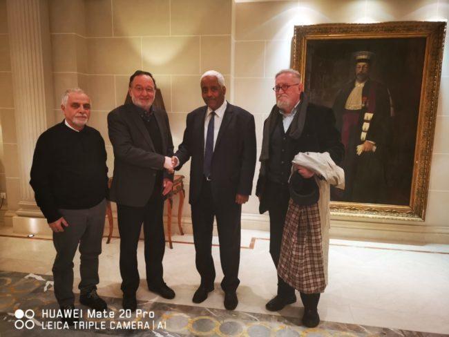 Π.Λαφαζάνης-Ναύαρχος Λιβύης E.M.Farag: Η Τουρκία δεν έχει θέση στη Λιβύη