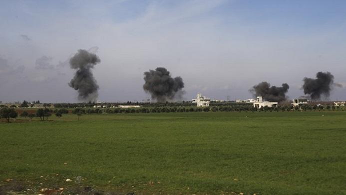Συρία-Ρωσία βομβάρδισαν τουρκικές θέσεις-Πάνω από 50 Τούρκοι στρατιώτες νεκροί
