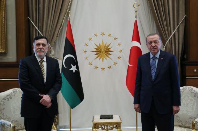 Ερντογάν-Σάρατζ:Σχεδίασαν τη ληστεία της ελληνικής υφαλοκρηπίδας με βάση το τουρκολυβικό μνημόνιο