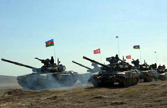 τουρκικό στρατό στο Ναγκόρνο-Καραμπάχ
