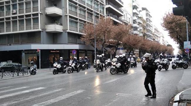 Θεσσαλονίκη: Mαχητική κινητοποίηση