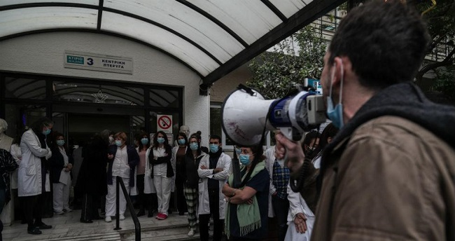 «Άγιος-Σάββας»: Αντί σε υπουργούς-κάνουν ΕΔΕ σε γιατρούς, που νόσησαν από κορονοϊό!!!