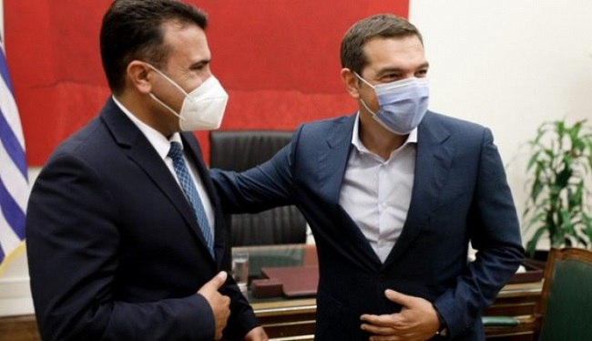 Τσίπρα και Ζάεφ για τη Συμφωνία των Πρεσπών