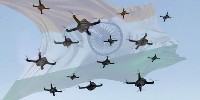 Ινδία χρησιμοποίησε επιχειρησιακά Swarm Drones
