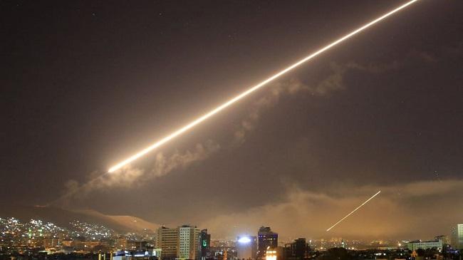 Αναχαίτισε με πυραύλους ισραηλινή επίθεση