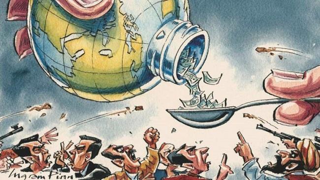 Η χρηματιστική μαφία της «παγκοσμιοποίησης» και η ελληνική κοινωνική εξαθλίωση