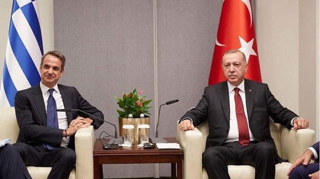 Ο Ερντογάν προαναγγέλλει συνάντηση με Μητσοτάκη