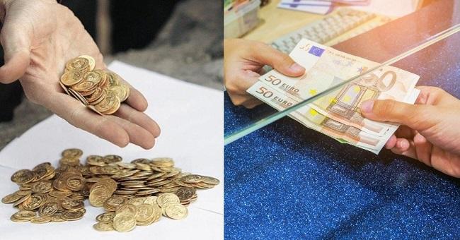 χρυσές λίρες πούλησαν πέρσι οι Έλληνες