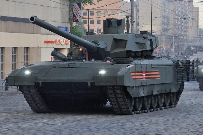 Ρωσικό τανκ Τ-14 ανιχνεύει στόχους