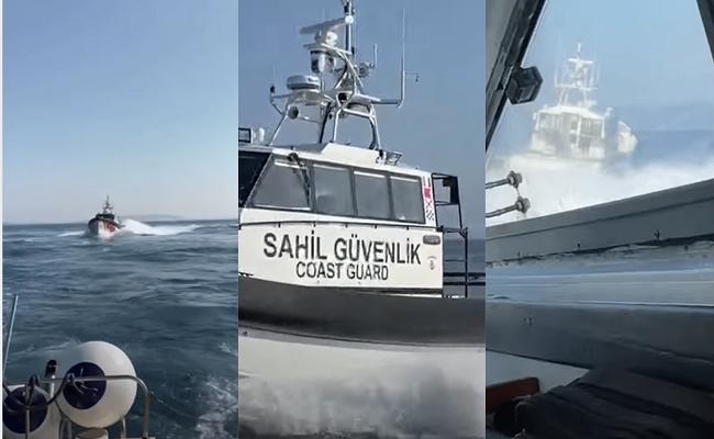 Τουρκική ακταιωρός παρενόχλησε σκάφος