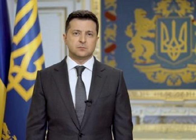 Διάγγελμα προέδρου Ουκρανίας