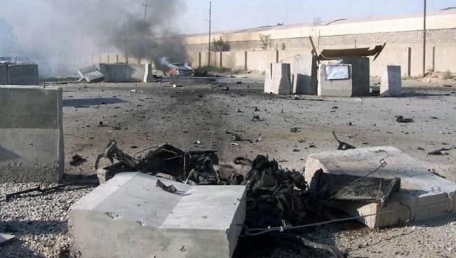 Επίθεση με ρουκέτες εναντίον στρατιωτικής βάσης