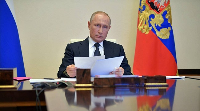 Ο πρόεδρος της Ρωσίας Β. Πούτιν έχει ετοιμάσει ήδη διάγγελμα