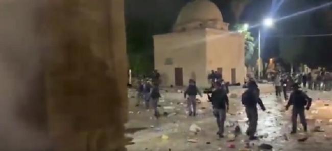 Βίαιες συγκρούσεις στην Ιερουσαλήμ