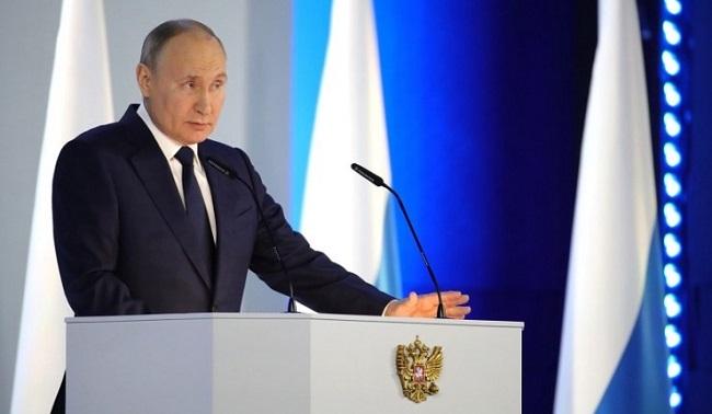 Πούτιν Κίπλινγκ και το φορτίο