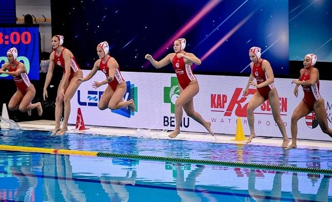 γυναίκεια ομάδα πόλο του Ολυμπιακού