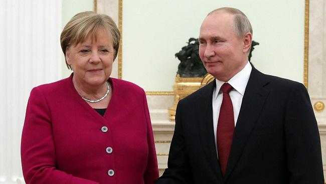 Νίκη Μέρκελ-Πούτιν
