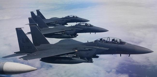 Ανεπιθύμητα τα Αμερικανικά μαχητικά F-15