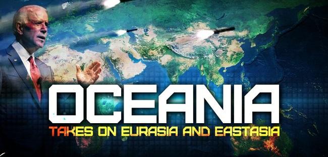 Η Ωκεανία σε σύγκρουση με Ευρασία
