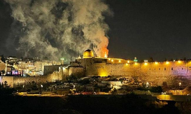 Μπες στην Ιερουσαλήμ με στρατό