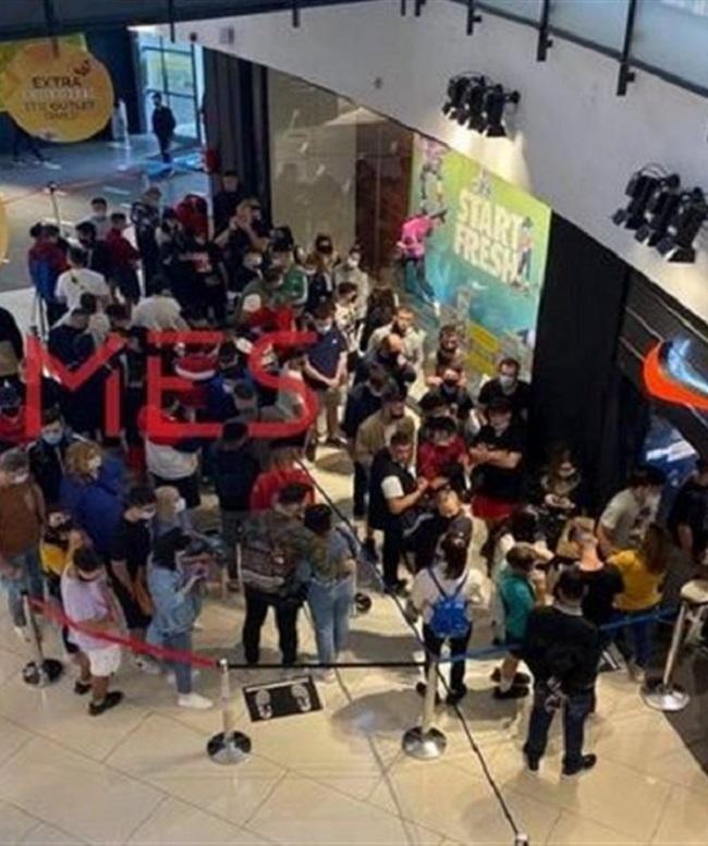 Σκηνές...Black Friday σε κατάστημα Θεσσαλονίκης