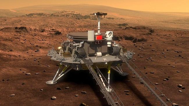 Προσεδάφισε ρομπότ στον Άρη