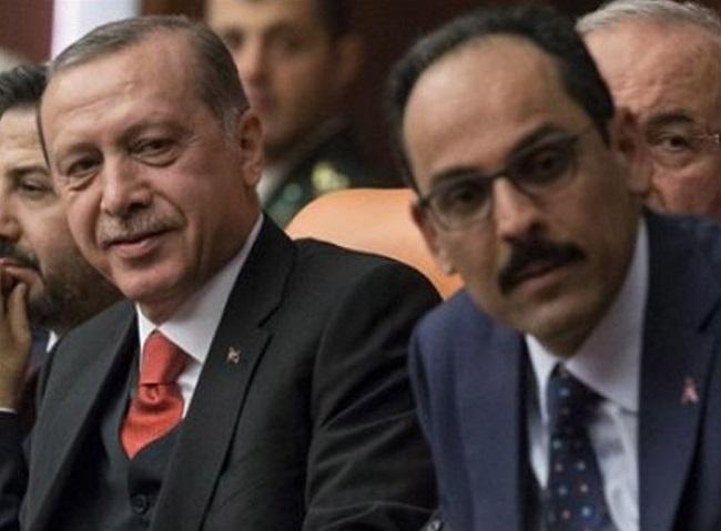 ο Καλίν στη συνάντηση Μητσοτάκη–Ερντογάν