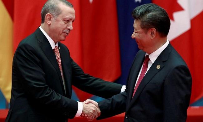 Η Κίνα προσφέρει «σωσίβιο» στον Ερντογάν