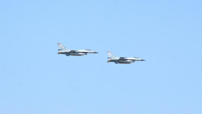 Η Ελλάδα έστειλε F-16 στα Σκόπια