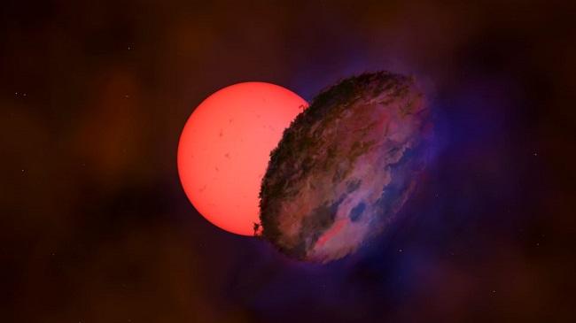 ανακαλύφθηκε στο κέντρο του γαλαξία μας