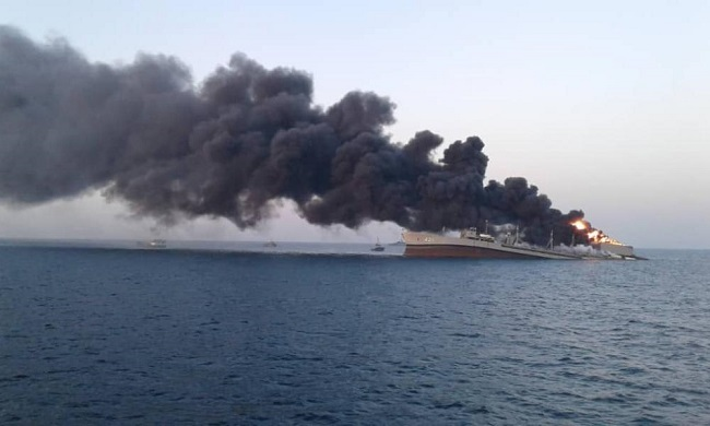 Βυθίστηκε το μεγαλύτερο δεξαμενόπλοιο