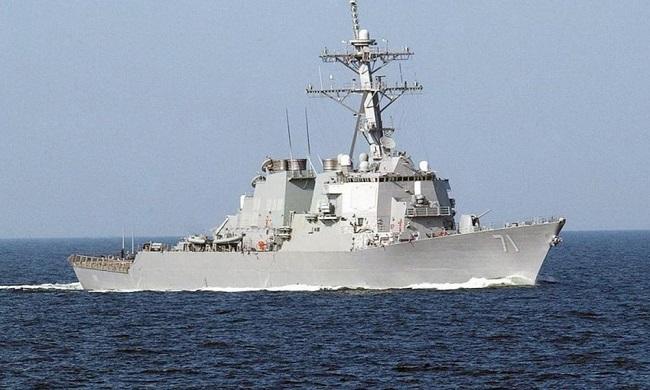 στο αμερικανικό αντιτορπιλικό USS-Ross