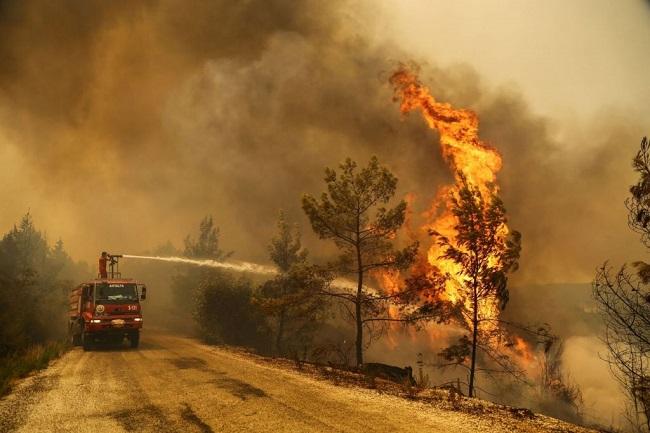 Μετά τις πυρκαγιές δείχνει πάλι Ελλάδα