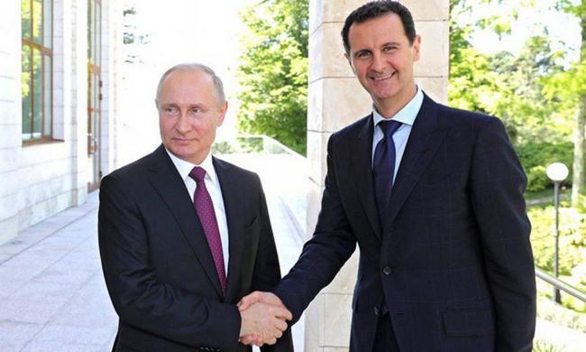 Σύνοδος έκπληξη με Πούτιν-Άσαντ στη Συρία