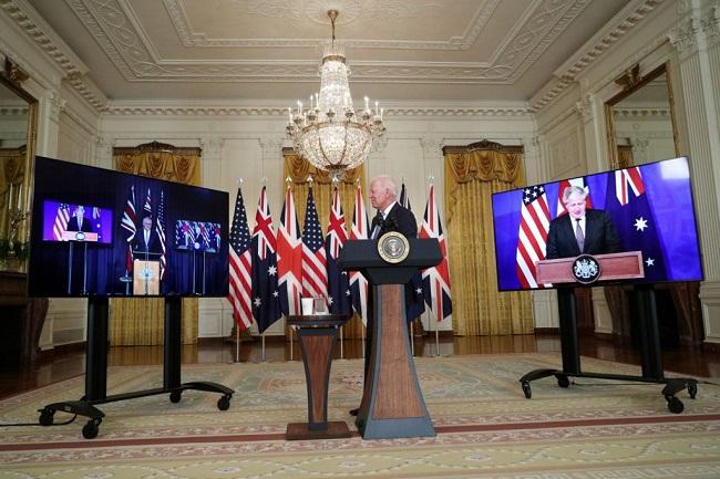 Ψυχροπολεμική κατά Κίνας συμμαχία ΗΠΑ