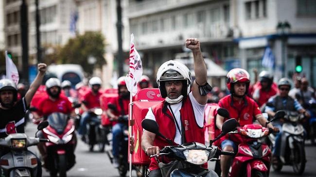 Χιλιάδες διανομείς στους δρόμους