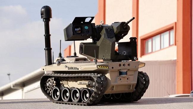και μη επανδρωμένα άρματα σε συνεργασία με UAV