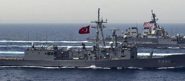 2,5ν.μ. από ακτές Κρήτης έφτασε τουρκική φρεγάτα!