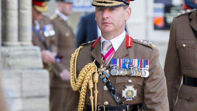Αρχηγός βρετανικού στρατού από Κύπρο