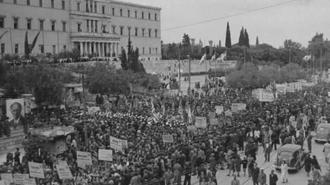 Ελλάδα μόνη χώρα που δεν γιορτάζει την απελευθέρωσή της από ναζί